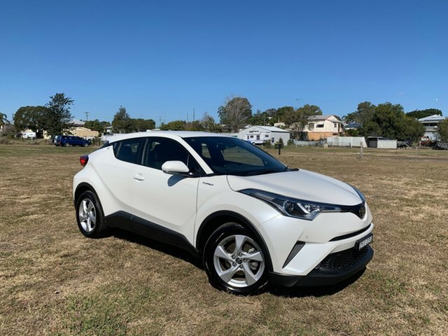 Used Toyota C-HR NGX10R S-CVT 2WD, 2018 Toyota C-HR NGX10R S-CVT 2WD Crystal Pearl 7 Speed Constant Variable Wagon