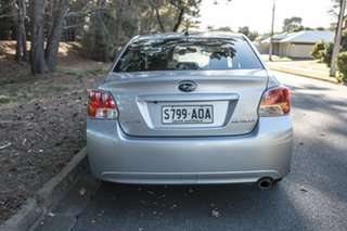 2011 Subaru Impreza G4 MY12 2.0i-L Lineartronic AWD Silver 6 Speed Constant Variable Sedan