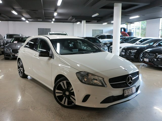 Used Mercedes-Benz A-Class W176 807MY A180 D-CT, 2016 Mercedes-Benz A-Class W176 807MY A180 D-CT White 7 Speed Sports Automatic Dual Clutch Hatchback