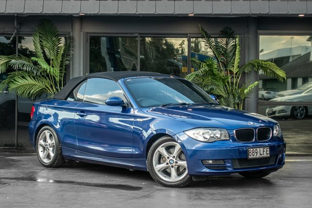 Used BMW 120i E87 MY07 , 2007 BMW 120i E87 MY07 Blue 6 Speed Automatic Hatchback
