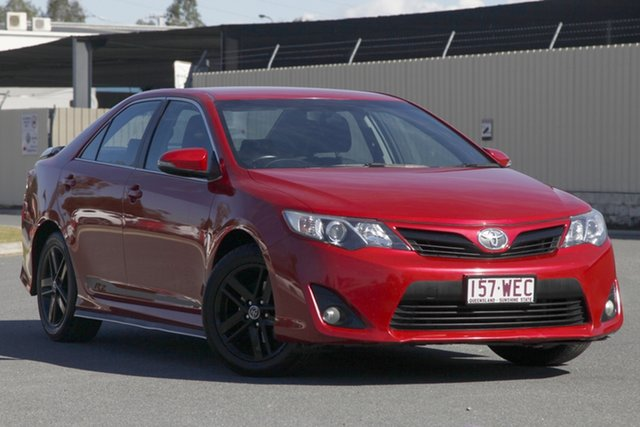 Used Toyota Camry ASV50R RZ, 2014 Toyota Camry ASV50R RZ Red 6 Speed Sports Automatic Sedan