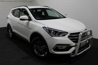 2017 Hyundai Santa Fe DM3 MY17 Active Pure White 6 Speed Sports Automatic Wagon.