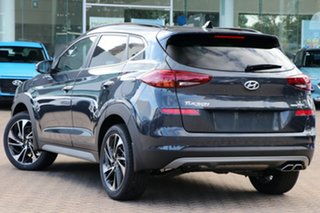 2020 Hyundai Tucson TL3 MY20 Highlander AWD Dusk Blue 8 Speed Sports Automatic Wagon.