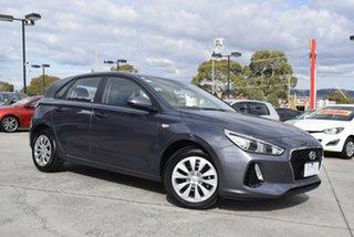 2017 Hyundai i30 PD MY18 Go Grey 6 Speed Sports Automatic Hatchback.