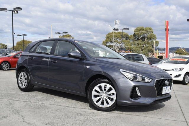 Used Hyundai i30 PD MY18 Go, 2017 Hyundai i30 PD MY18 Go Grey 6 Speed Sports Automatic Hatchback