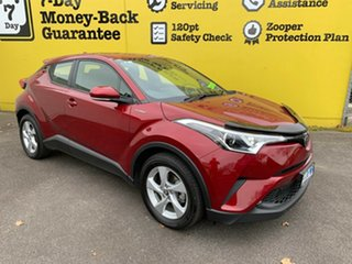 2017 Toyota C-HR NGX50R S-CVT AWD Atomic Rush 7 Speed Constant Variable Wagon.