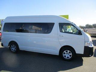 2018 Toyota HiAce KDH223R White Bus.