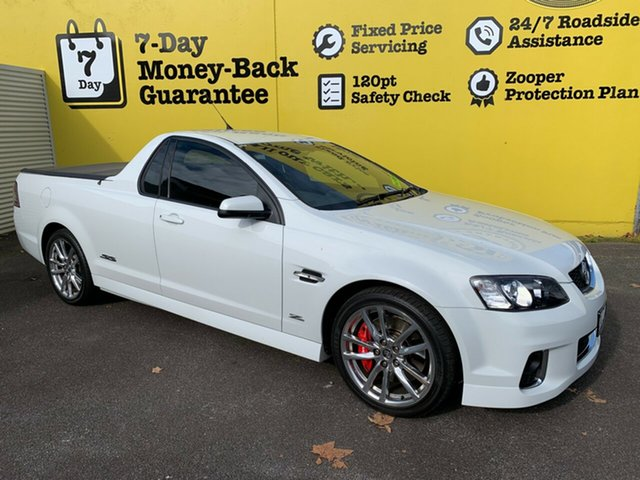 Used Holden Ute VE II MY12.5 SS V Z Series, 2013 Holden Ute VE II MY12.5 SS V Z Series Heron White 6 Speed Sports Automatic Utility