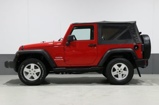 2010 Jeep Wrangler JK MY09 Sport (4x4) Red 4 Speed Automatic Softtop