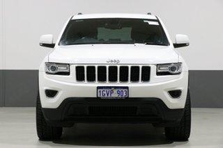 2015 Jeep Grand Cherokee WK MY15 Laredo (4x4) White 8 Speed Automatic Wagon.