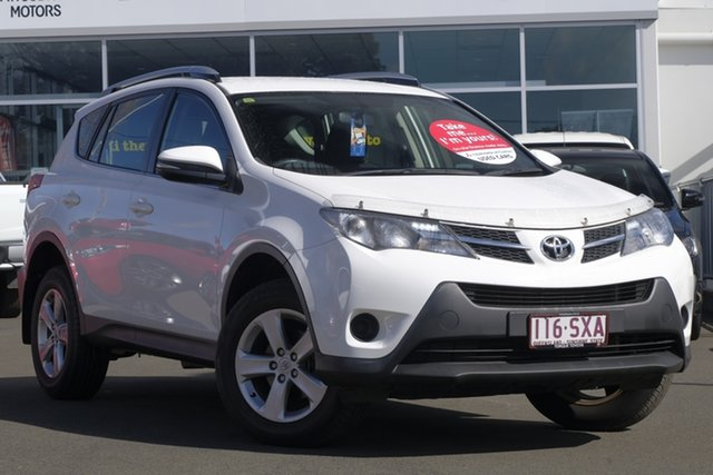 Used Toyota RAV4 ALA49R GX AWD, 2013 Toyota RAV4 ALA49R GX AWD White 6 Speed Sports Automatic Wagon