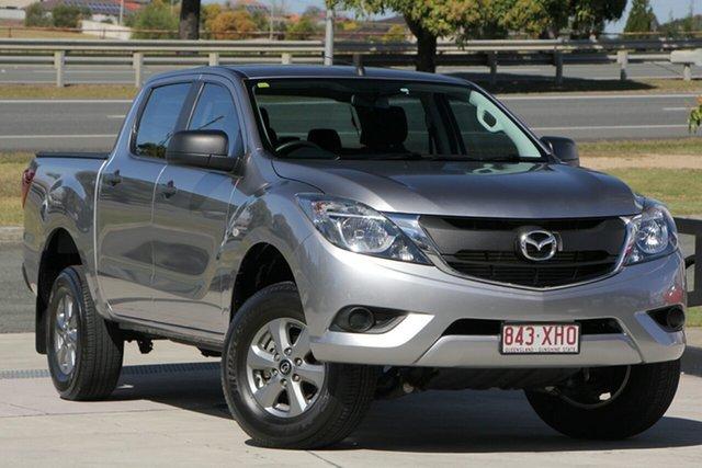 Used Mazda BT-50 UR0YG1 XT 4x2 Hi-Rider, 2017 Mazda BT-50 UR0YG1 XT 4x2 Hi-Rider Silver 6 Speed Sports Automatic Utility
