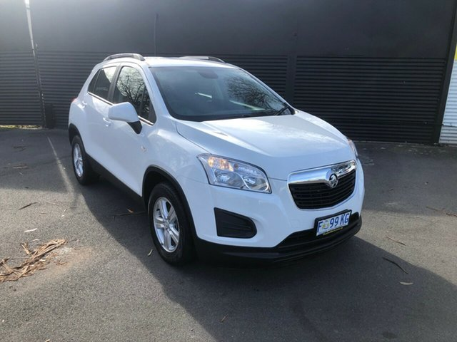 Used Holden Trax TJ MY16 LS, 2016 Holden Trax TJ MY16 LS Summit White 6 Speed Automatic Wagon