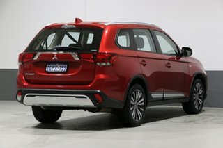 2018 Mitsubishi Outlander ZL MY19 ES 7 Seat (AWD) Red Continuous Variable Wagon