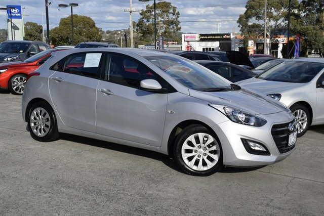Used Hyundai i30 GD4 Series II MY17 Active, 2016 Hyundai i30 GD4 Series II MY17 Active Platinum Silver 6 Speed Sports Automatic Hatchback