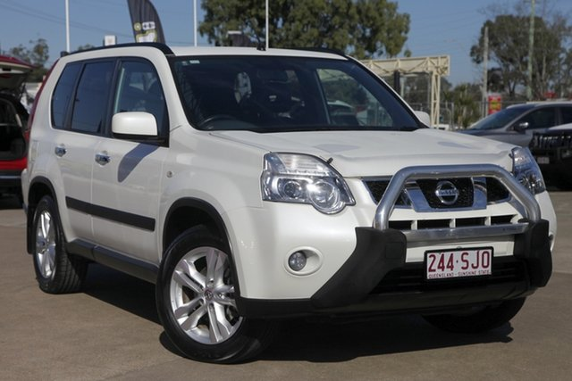 Used Nissan X-Trail T31 Series IV ST-L, 2011 Nissan X-Trail T31 Series IV ST-L White 1 Speed Constant Variable Wagon