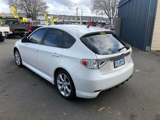 2007 Subaru Impreza G3 MY08 RS AWD White 5 Speed Manual Hatchback
