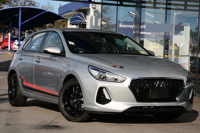 New Hyundai i30 PD MY19 Go, 2019 Hyundai i30 PD MY19 Go Platinum Silver 6 Speed Sports Automatic Hatchback