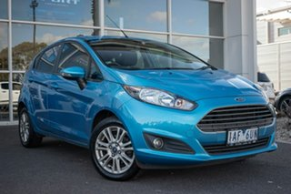 2013 Ford Fiesta WZ Trend PwrShift 6 Speed Sports Automatic Dual Clutch Hatchback