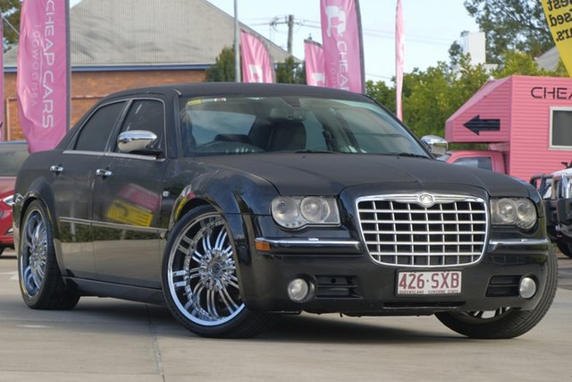 Used Chrysler 300C MY2006 HEMI, 2006 Chrysler 300C MY2006 HEMI Black 5 Speed Sports Automatic Sedan