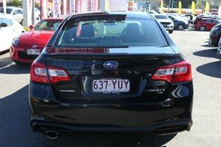2018 Subaru Liberty B6 MY18 2.5i CVT AWD Premium Crystal Black 6 Speed Constant Variable Sedan.