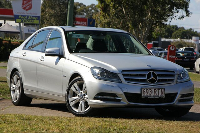 Used Mercedes-Benz C200 W204 MY11 BlueEFFICIENCY 7G-Tronic +, 2011 Mercedes-Benz C200 W204 MY11 BlueEFFICIENCY 7G-Tronic + Silver 7 Speed Sports Automatic Sedan