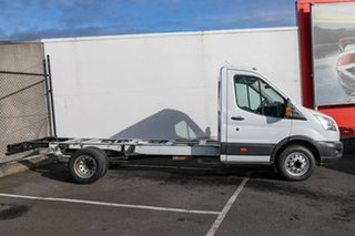 2014 Ford Transit VO 470E White 6 Speed Manual Cab Chassis