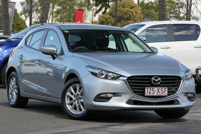 Used Mazda 3 BN5478 Neo SKYACTIV-Drive, 2017 Mazda 3 BN5478 Neo SKYACTIV-Drive Silver 6 Speed Sports Automatic Hatchback
