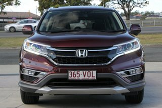 2014 Honda CR-V RM Series II MY16 VTi-L Camelian Red/black 5 Speed Sports Automatic Wagon