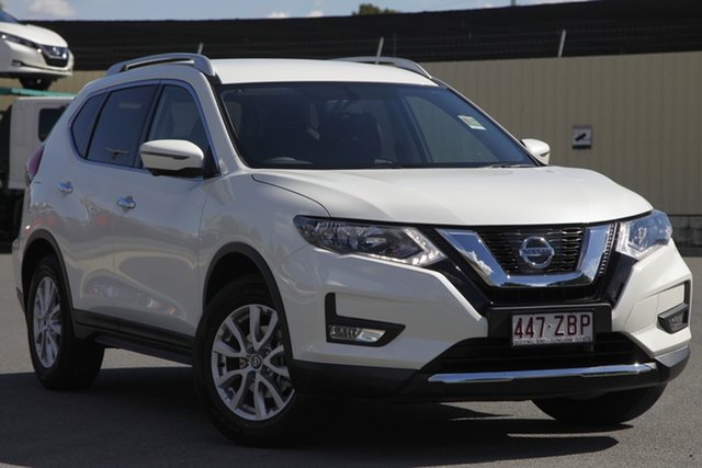 Demo Nissan X-Trail T32 Series II ST-L X-tronic 2WD, 2018 Nissan X-Trail T32 Series II ST-L X-tronic 2WD Ivory Pearl 7 Speed Constant Variable Wagon