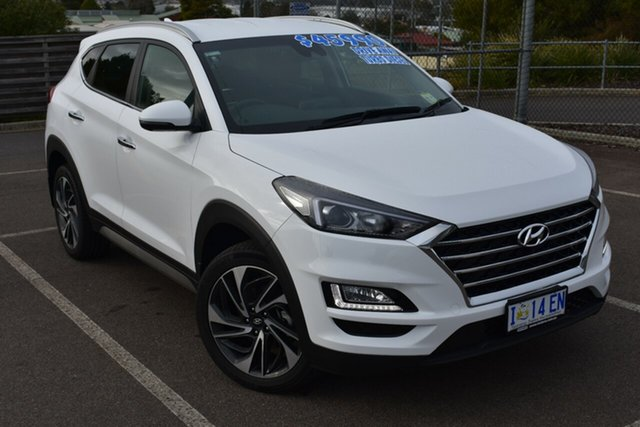 Demo Hyundai Tucson TLE3 MY19 Special Edition AWD, 2018 Hyundai Tucson TLE3 MY19 Special Edition AWD Polar White 8 Speed Sports Automatic Wagon