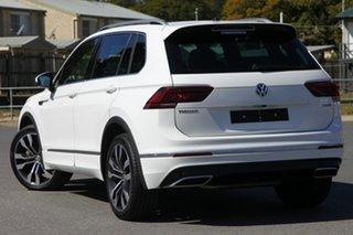 2018 Volkswagen Tiguan 5N MY19 162TSI DSG 4MOTION Highline Pure White 7 Speed.