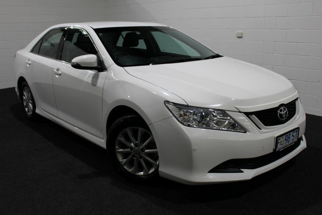 Used Toyota Aurion GSV50R AT-X, 2016 Toyota Aurion GSV50R AT-X White 6 Speed Sports Automatic Sedan