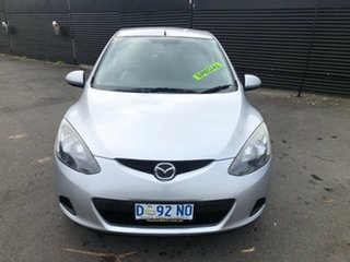 2007 Mazda 2 DY10Y2 Neo Silver 4 Speed Automatic Hatchback.