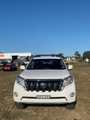 2016 Toyota Landcruiser Prado GDJ150R GXL Glacier White 6 Speed Sports Automatic Wagon
