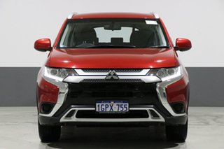 2018 Mitsubishi Outlander ZL MY19 ES 7 Seat (AWD) Red Continuous Variable Wagon.