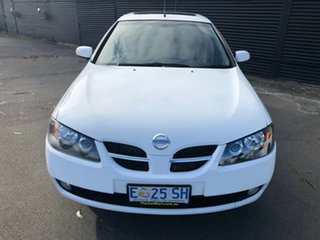 2004 Nissan Pulsar N16 S2 MY2004 Q White 4 Speed Automatic Hatchback.