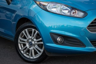 2013 Ford Fiesta WZ Trend PwrShift 6 Speed Sports Automatic Dual Clutch Hatchback.