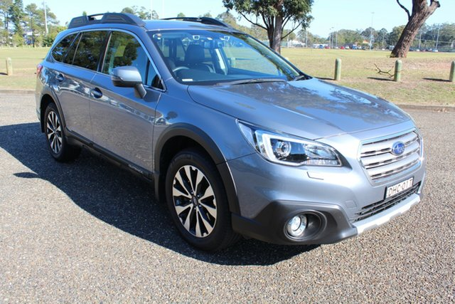 Used Subaru Outback B6A MY16 2.0D CVT AWD Premium, 2016 Subaru Outback B6A MY16 2.0D CVT AWD Premium Silver 7 Speed Constant Variable Wagon