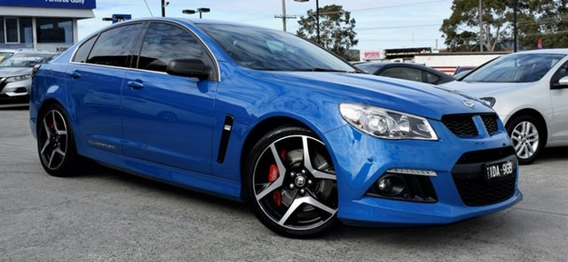 Used Holden Special Vehicles ClubSport Gen-F MY14 R8, 2014 Holden Special Vehicles ClubSport Gen-F MY14 R8 Blue 6 Speed Sports Automatic Sedan
