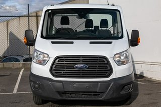 2014 Ford Transit VO 470E White 6 Speed Manual Cab Chassis.