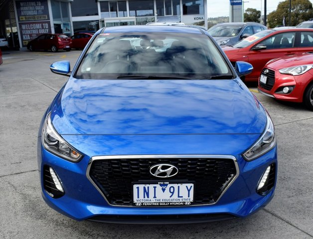 Used Hyundai i30 PD2 MY18 Active, 2018 Hyundai i30 PD2 MY18 Active Blue 6 Speed Sports Automatic Hatchback