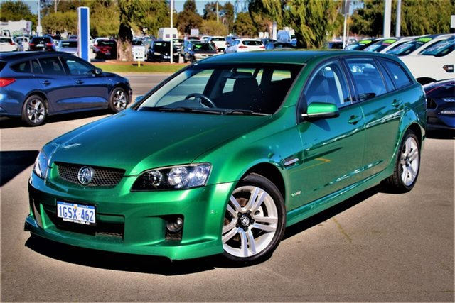 Used Holden Commodore VE MY10 SV6 Sportwagon, 2009 Holden Commodore VE MY10 SV6 Sportwagon Green 6 Speed Sports Automatic Wagon