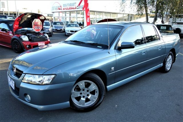 Used Holden Crewman VZ S, 2004 Holden Crewman VZ S Blue 4 Speed Automatic Utility