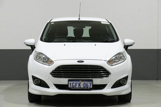 2017 Ford Fiesta WZ Sport White 6 Speed Automatic Hatchback.
