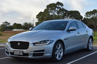 2016 Jaguar XE X760 MY16 20t Prestige Silver 8 Speed Sports Automatic Sedan