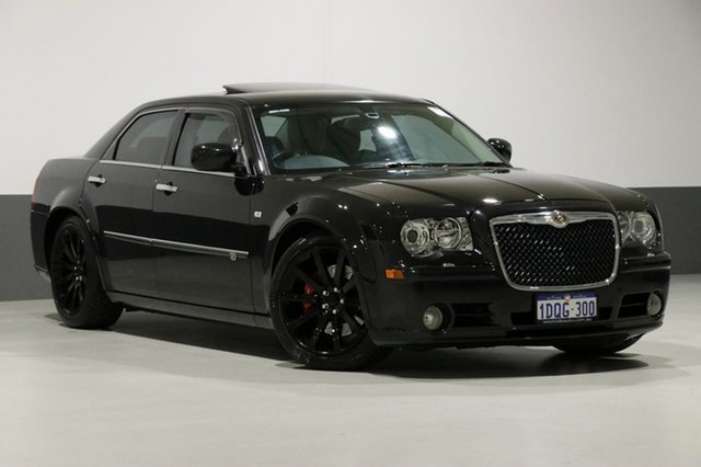 Used Chrysler 300C LE MY08 SRT8, 2011 Chrysler 300C LE MY08 SRT8 Black 5 Speed Automatic Sedan
