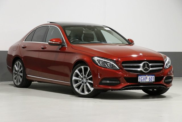 Used Mercedes-Benz C250 205 , 2015 Mercedes-Benz C250 205 Red 7 Speed Automatic Sedan