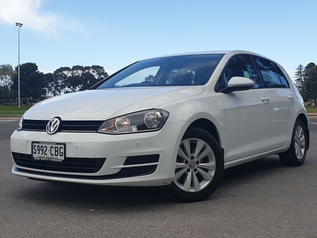 Used Volkswagen Golf VII MY14 90TSI DSG Comfortline, 2014 Volkswagen Golf VII MY14 90TSI DSG Comfortline White 7 Speed Sports Automatic Dual Clutch