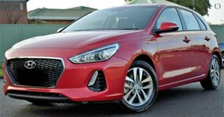 2018 Hyundai i30 PD2 MY18 Active Red/Black 6 Speed Sports Automatic Hatchback